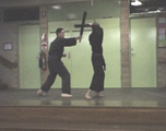 To Movie - Brendan and C.J.'s Weapons Demonstration - 2002